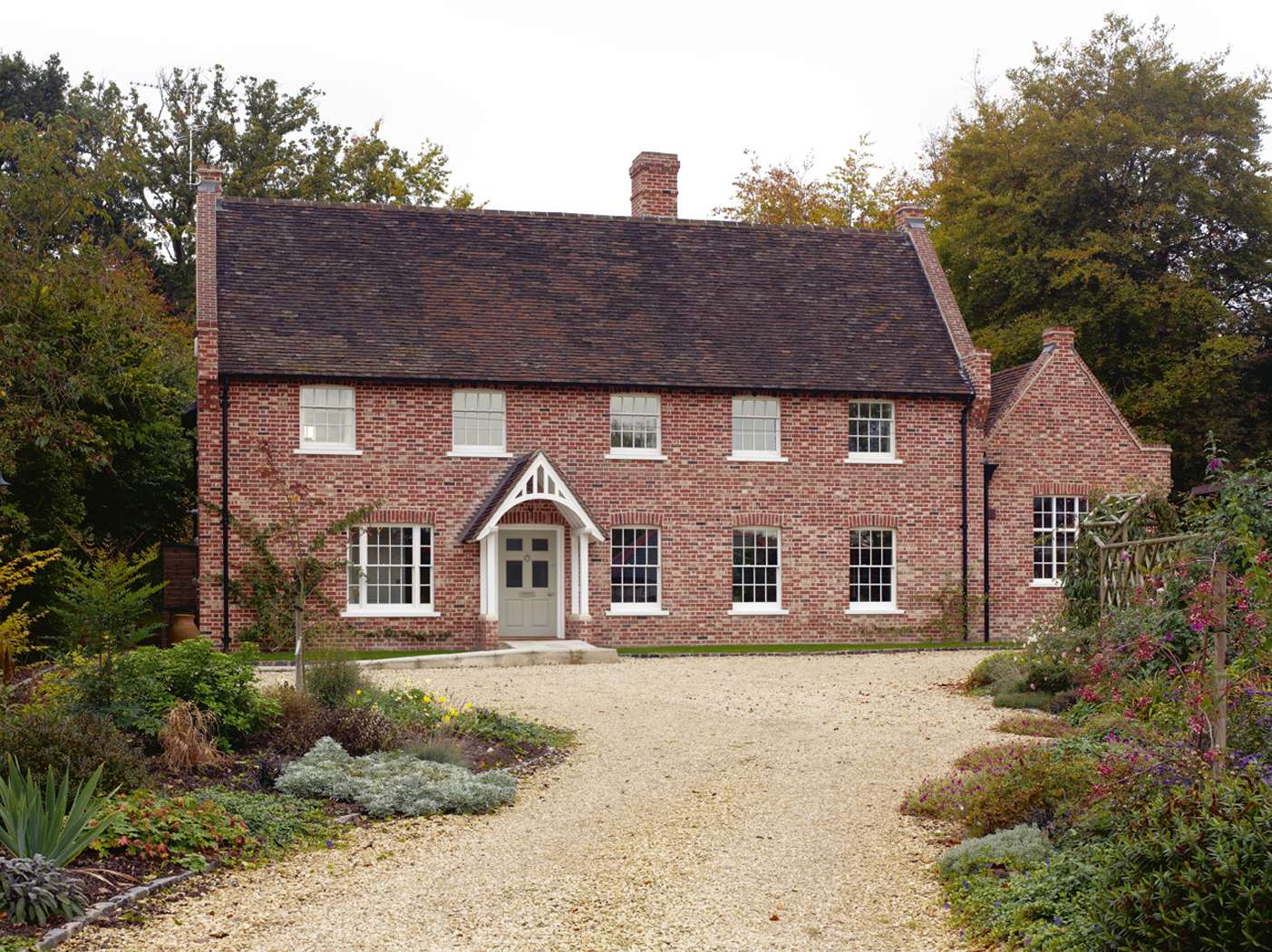 English style design for country houses for English farmhouse plans