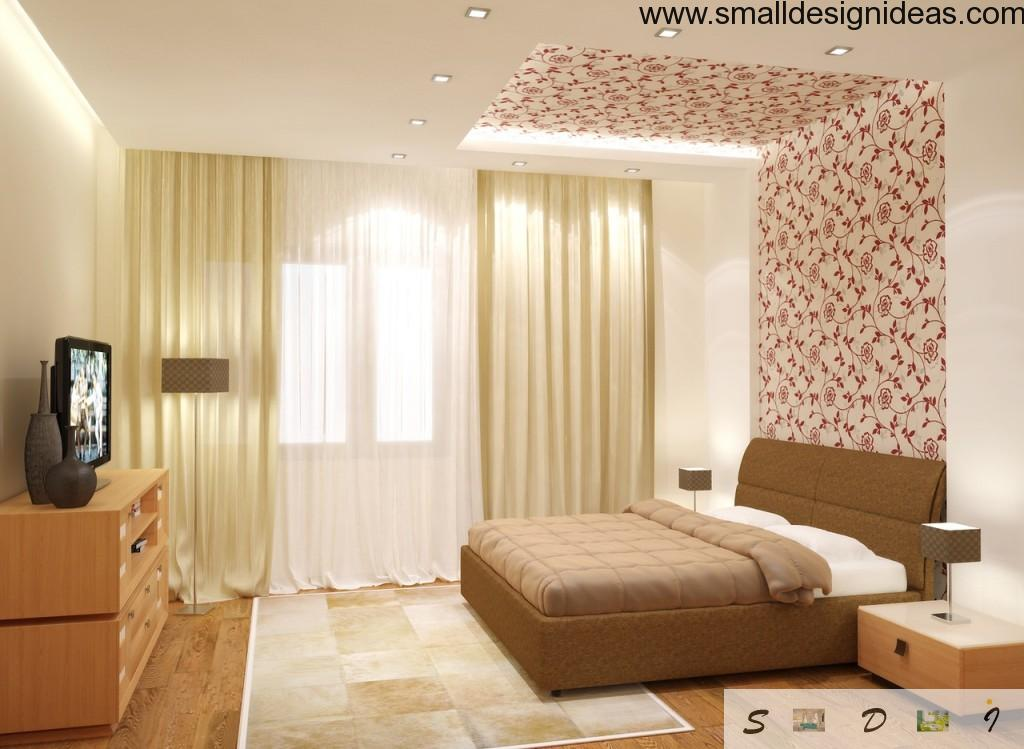Small design ideas for small bedroom interior