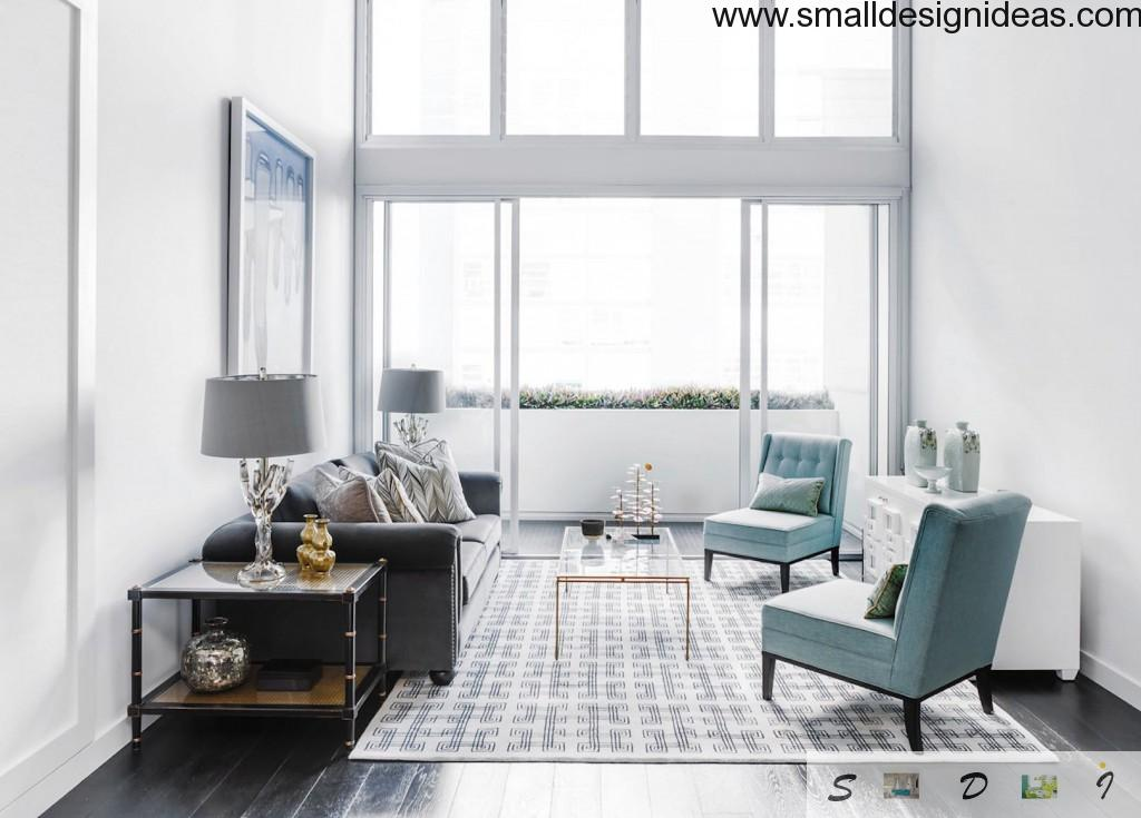 Small Design Ideas for Large Living Room with large living rag and textile upholstered furniture