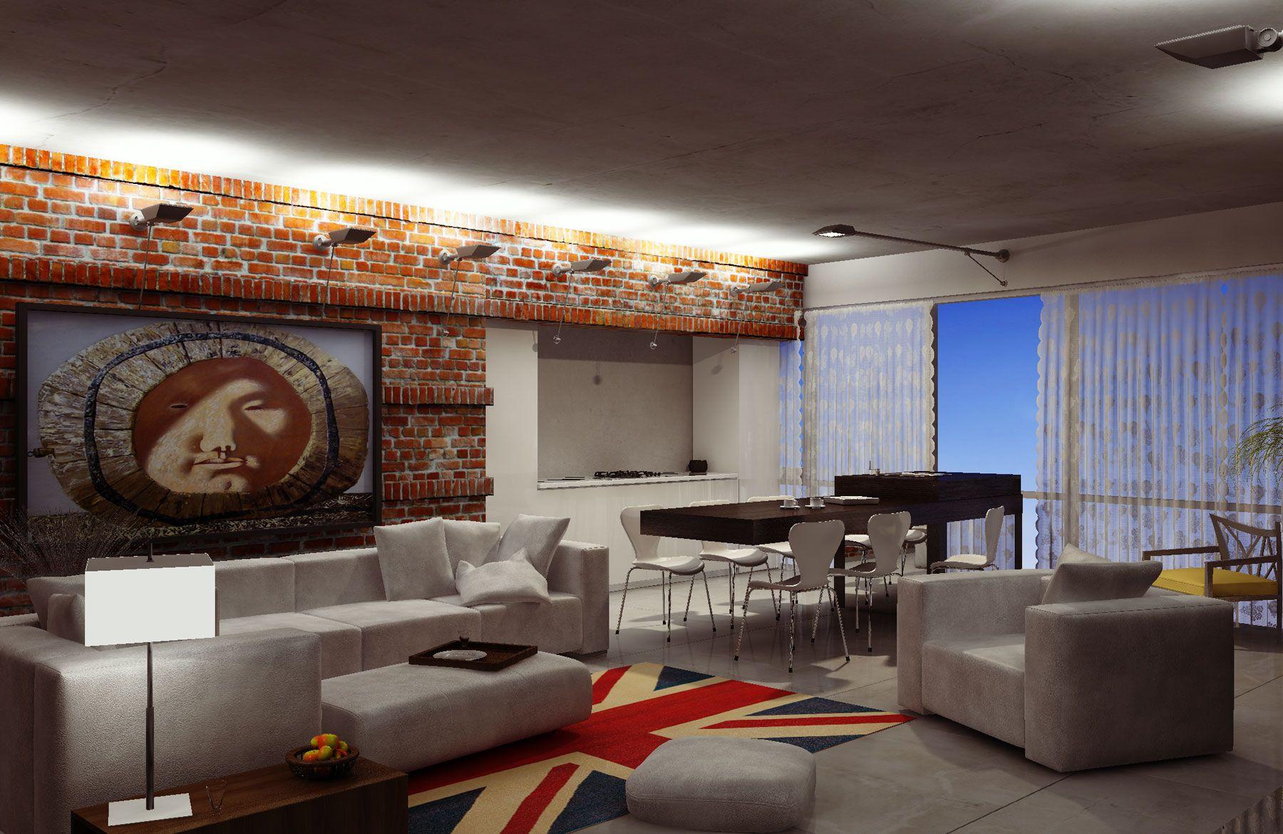 Stylish Laconic And Functional New York Loft Style: Loft Interior Design Style