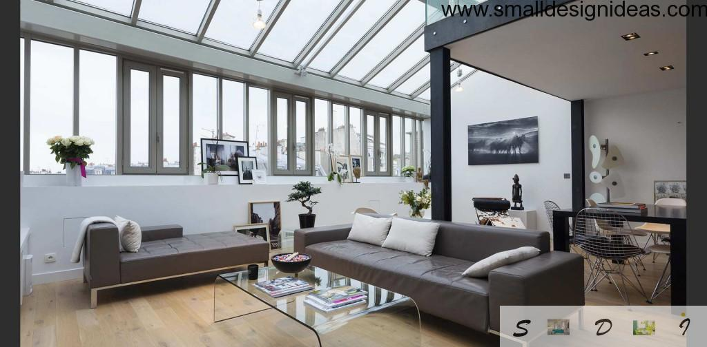 Small design ideas for large living room for Hi tech living room designs