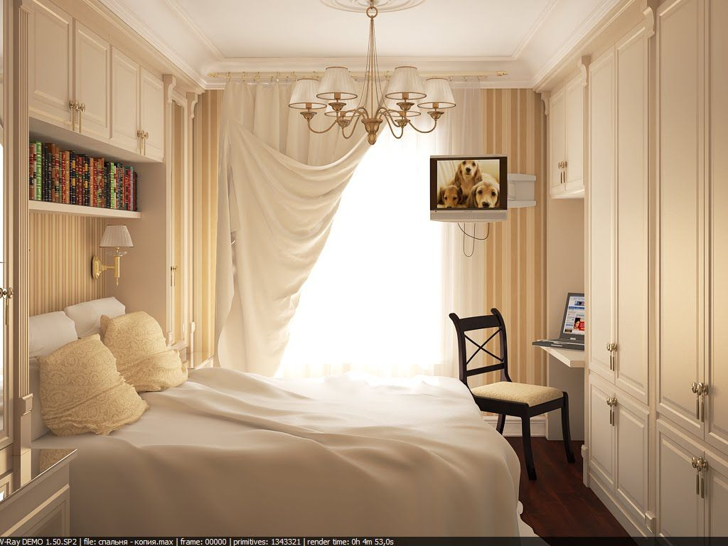 Let Us Overview The Techniques That Are Used By Designers For Small Bedrooms  Arranging.