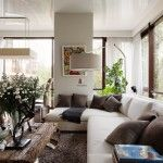 Eco design and eclecticism in modern apartments are very near to one another