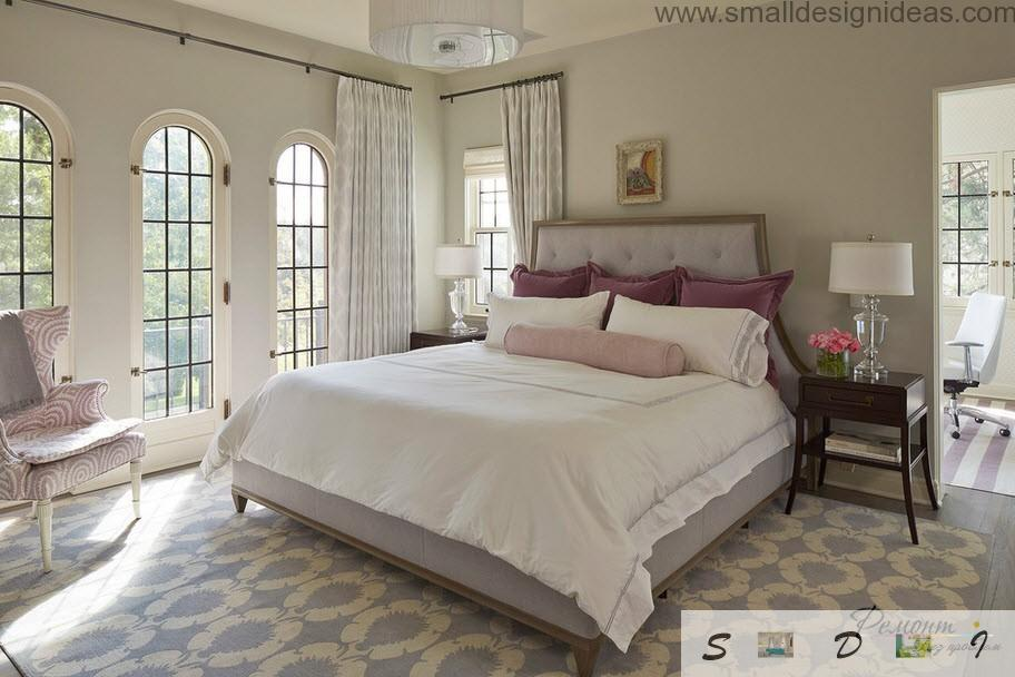 Classic bedroom design ideas for big country house