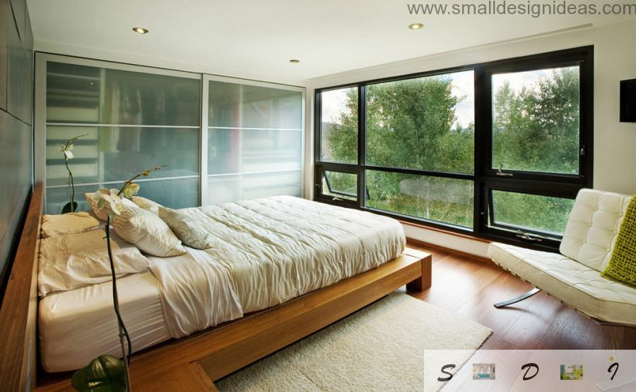 Modern Eco Bedroom In The Modern Country House