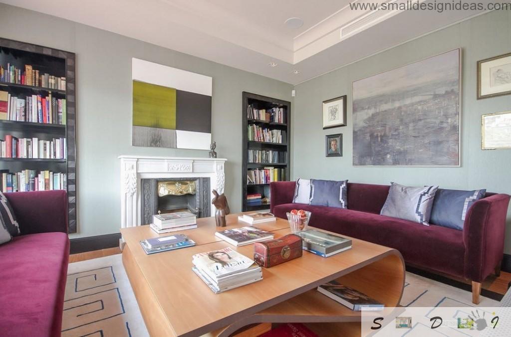 Nice modern design in the living room