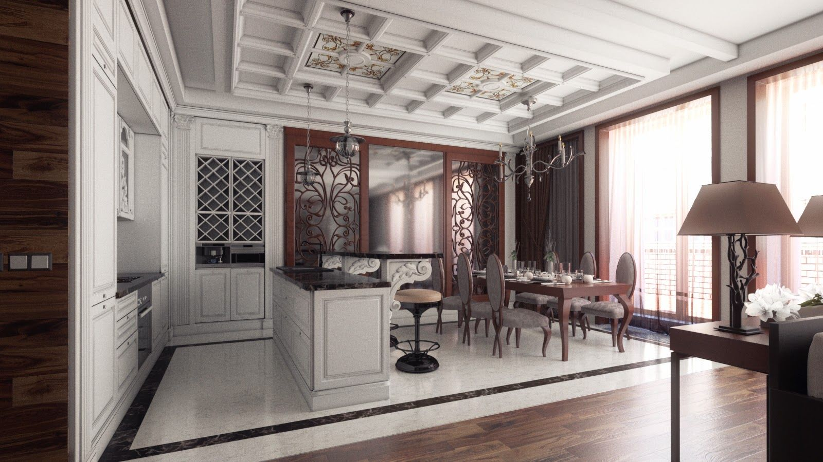 initially it was widespread in art and architecture but quickly won the hearts of the people and began to be used in the design of furniture and - Art Nouveau Interior Design Style
