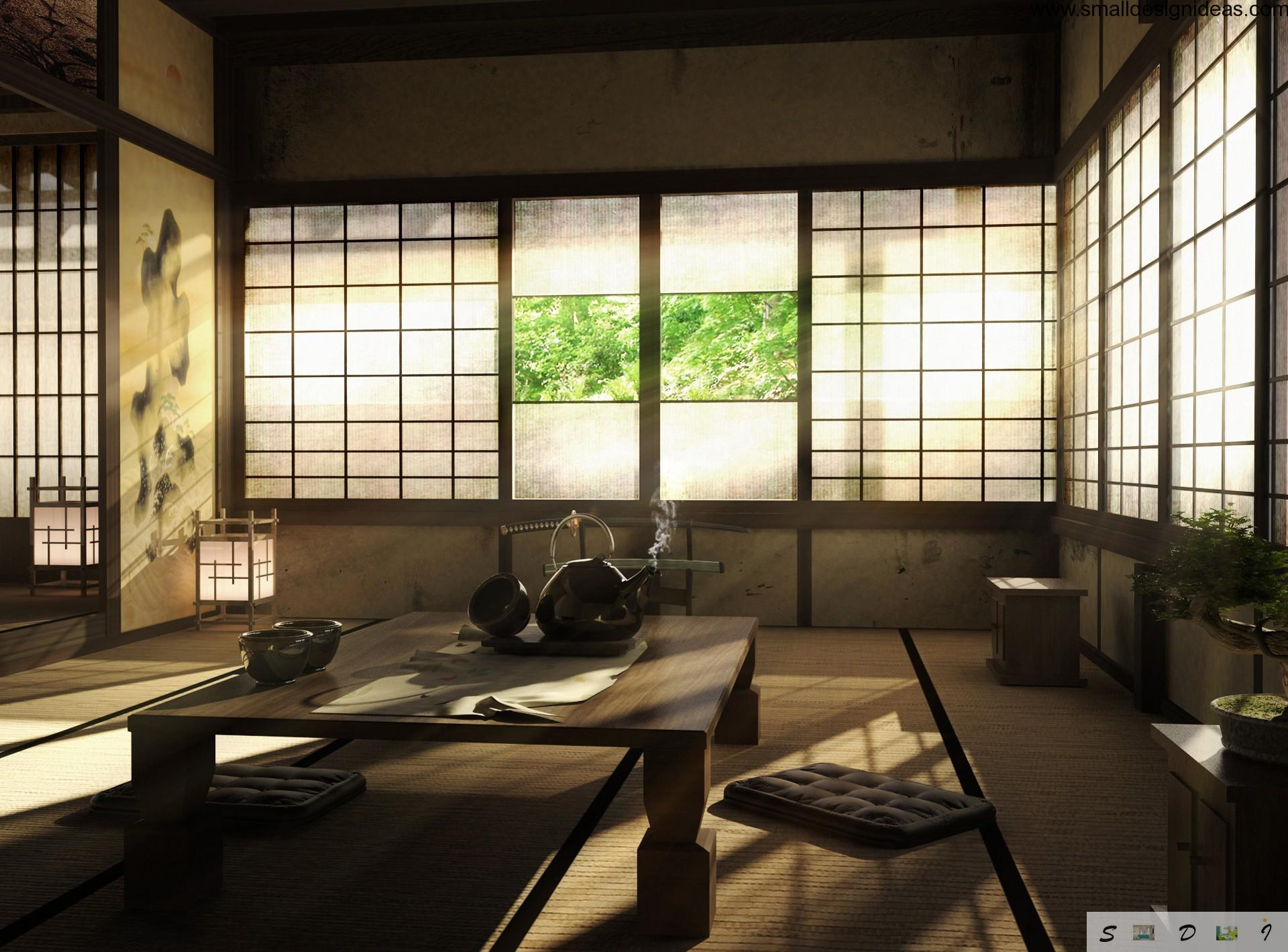 Japanese interior design style - Japanese home decor ...