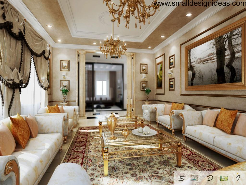 Excellence of taste in the modern Rococo Interior Design Style