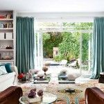 Huge window makes more ecological overall eclectic interior