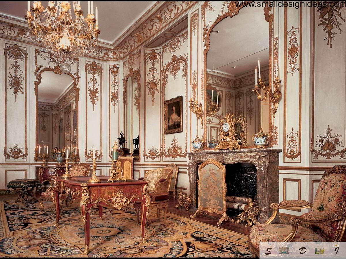 French Baroque Interior Design Characteristics