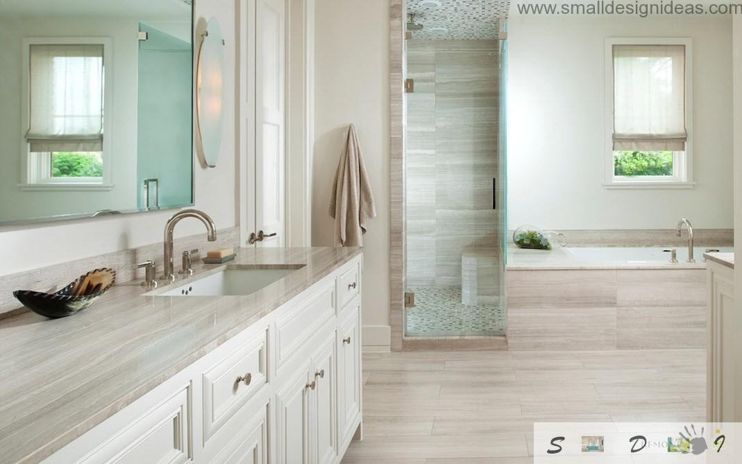 traditional white bathroom designs. Nuances Trim White Bathroom Traditional Designs