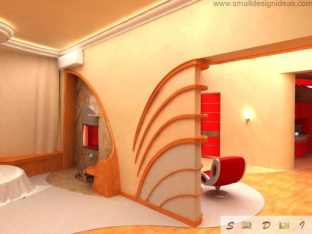 Fresh Apartment Wall Paint Ideas. Original wall painting and decoration in the apartment