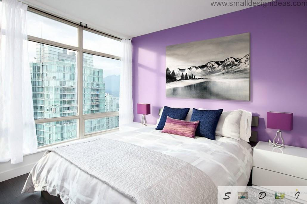 Purple And Beige Bedroom Ideas Part - 25: Small Design Ideas