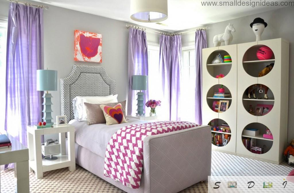 teen girl bedroom design ideas in light strict gamma