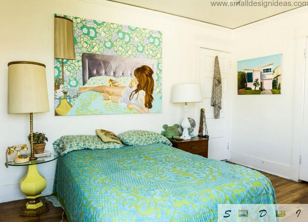 Bedroom for almost grown teen girl with her own design wishes