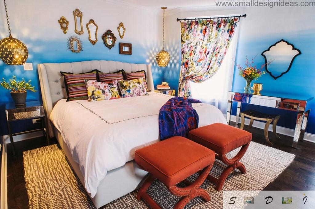 Teen Girl Bedroom Decoration & Design with marine theme