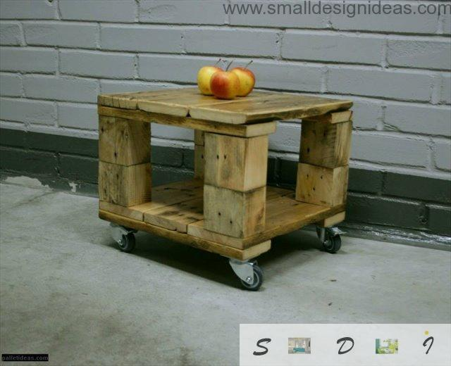 mere pallet trolley with aples for indoor use