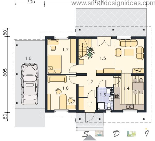 4 Bedroom Plan House 2 Nd Floor