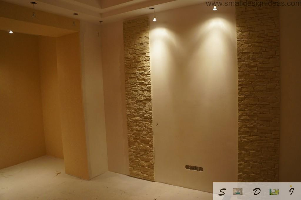 Remodeling in the apartment starting with proper wall painting and decoration