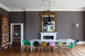 Choose your favourite color from the rainbow of the kitchen chairs