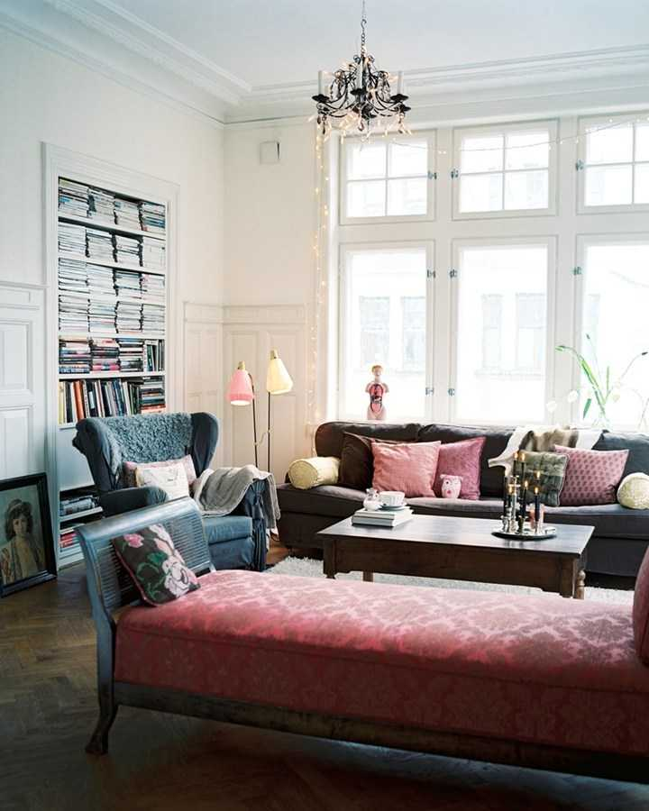 Living room full of furniture and decor