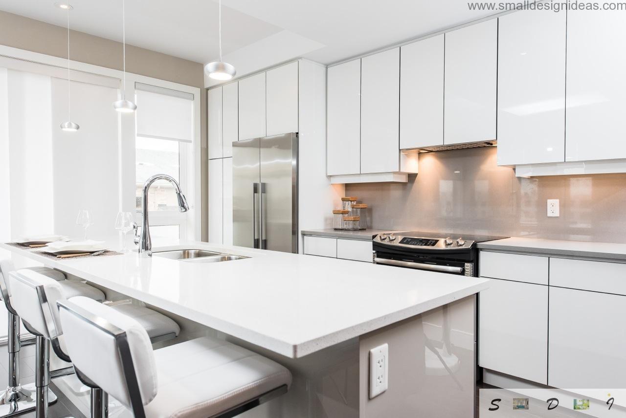 Modern Medium and Large Kitchen Layout Ideas