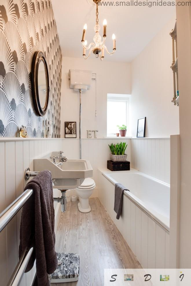 Sybarite designed aesthetic bathroom with flowers