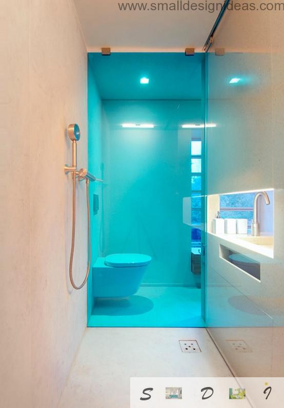 Cerulean Theme For Extra Small Bath