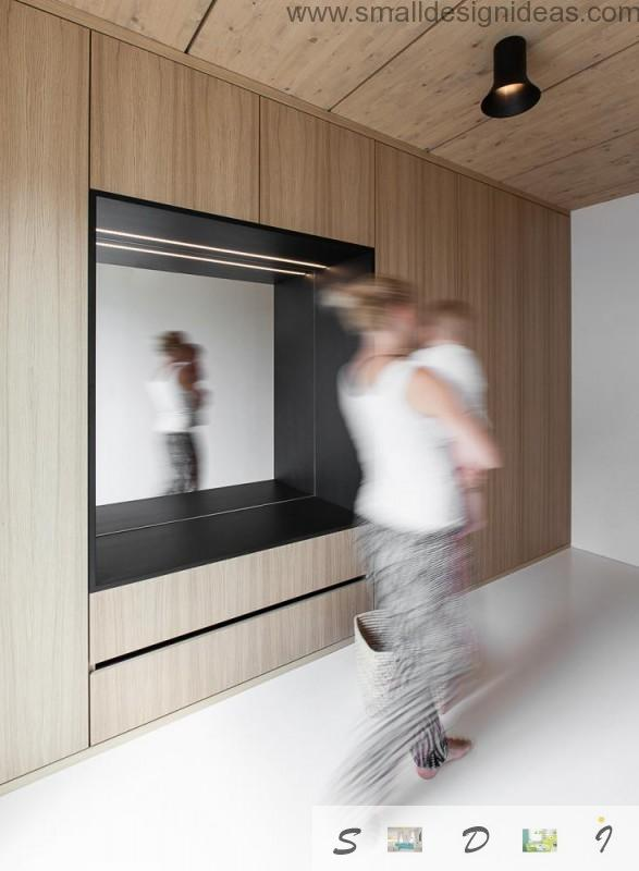German Minimalistic House Design ideas in the living