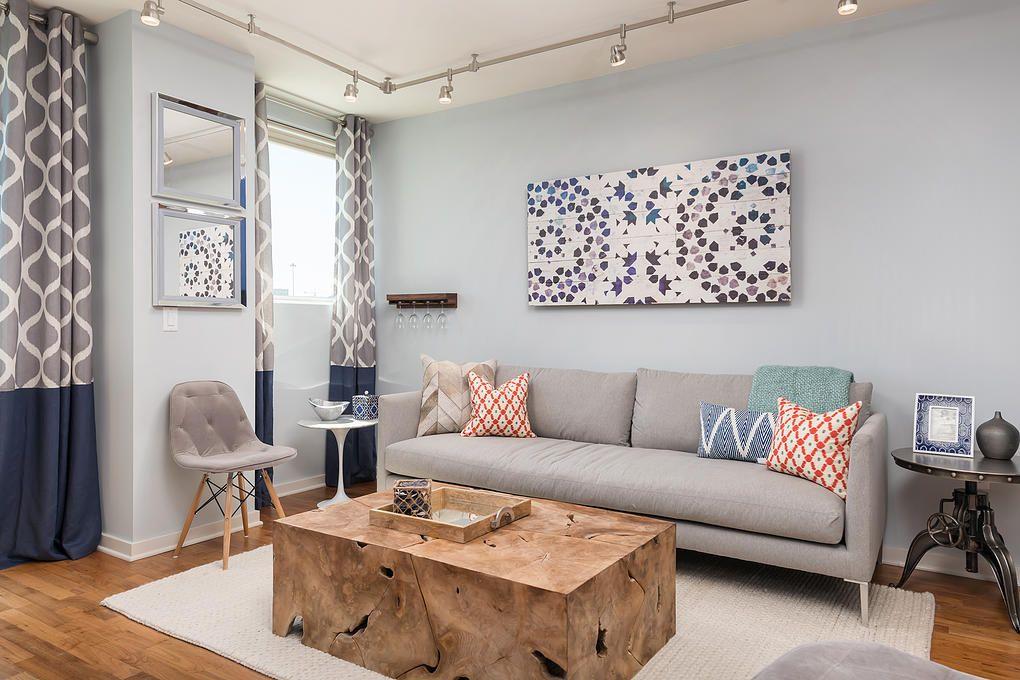 Small San Francisco Apartment Mixing Styles