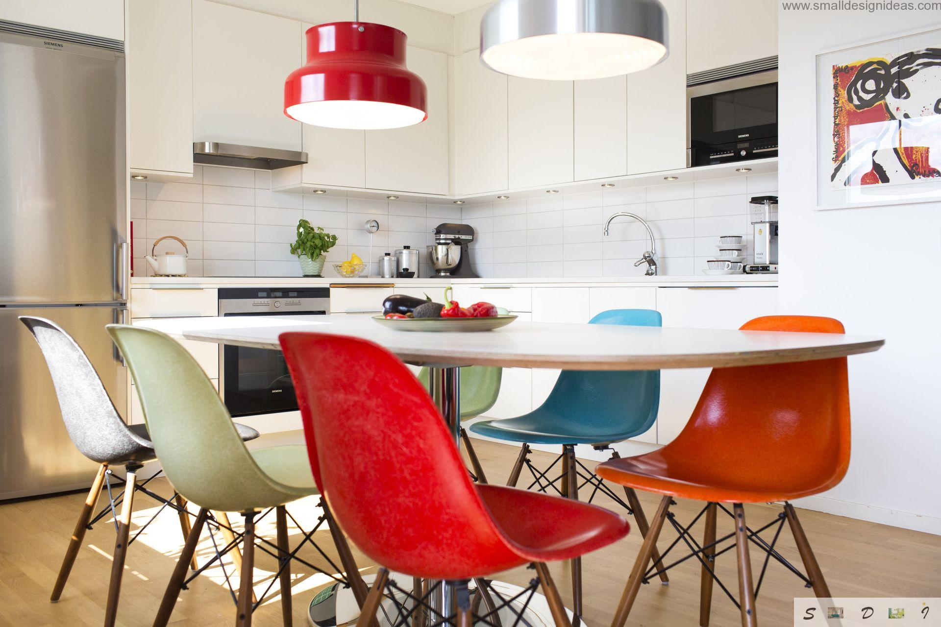 Colorful Design Ideas For Modern Kitchen