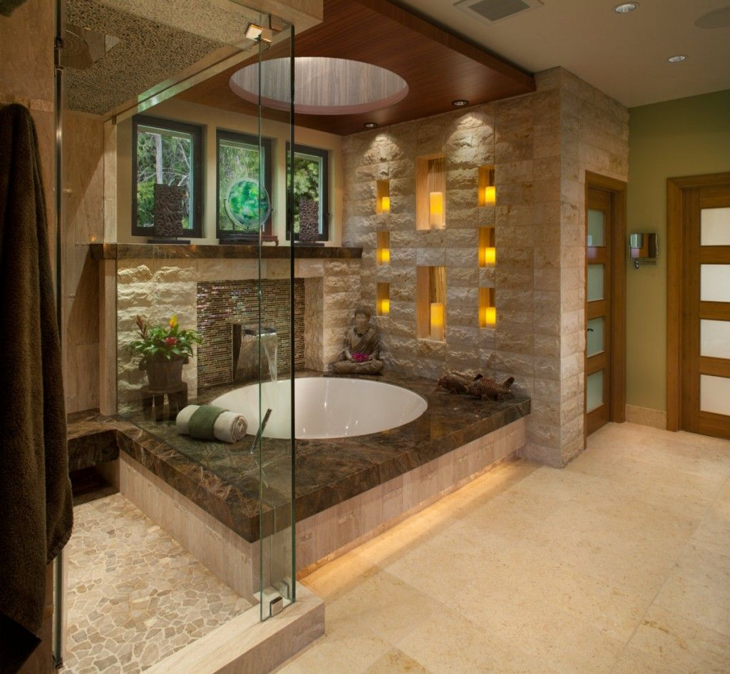 Oriental Style Bathroom Design Ideas from Egypt