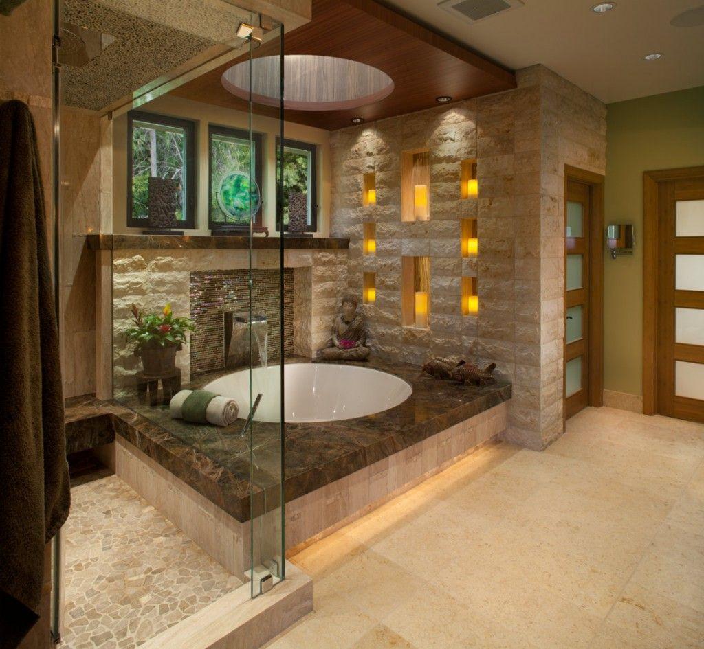 Oriental Style Bathroom Design Ideas from Egypt