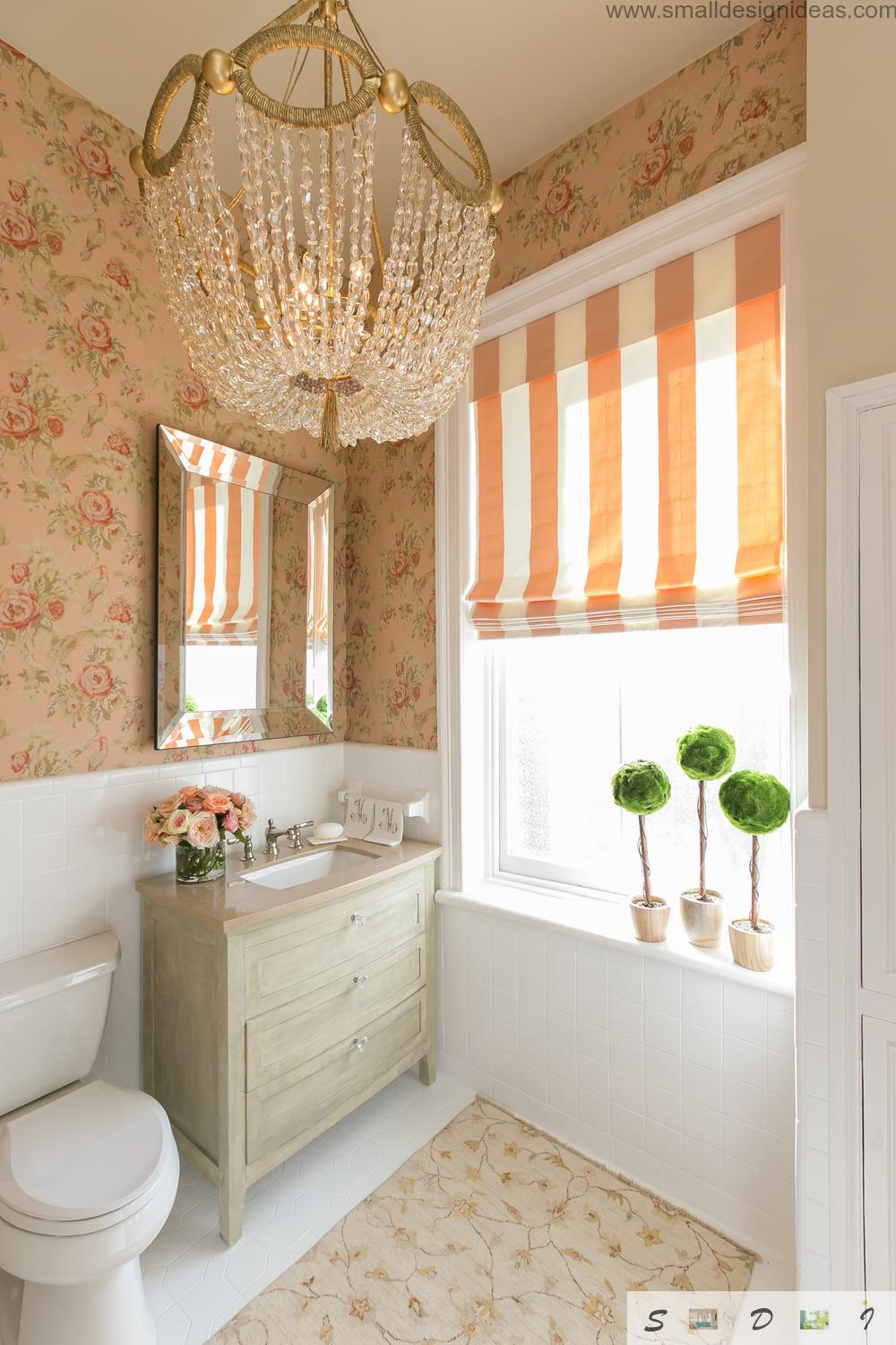 classic style small bathroom remodel