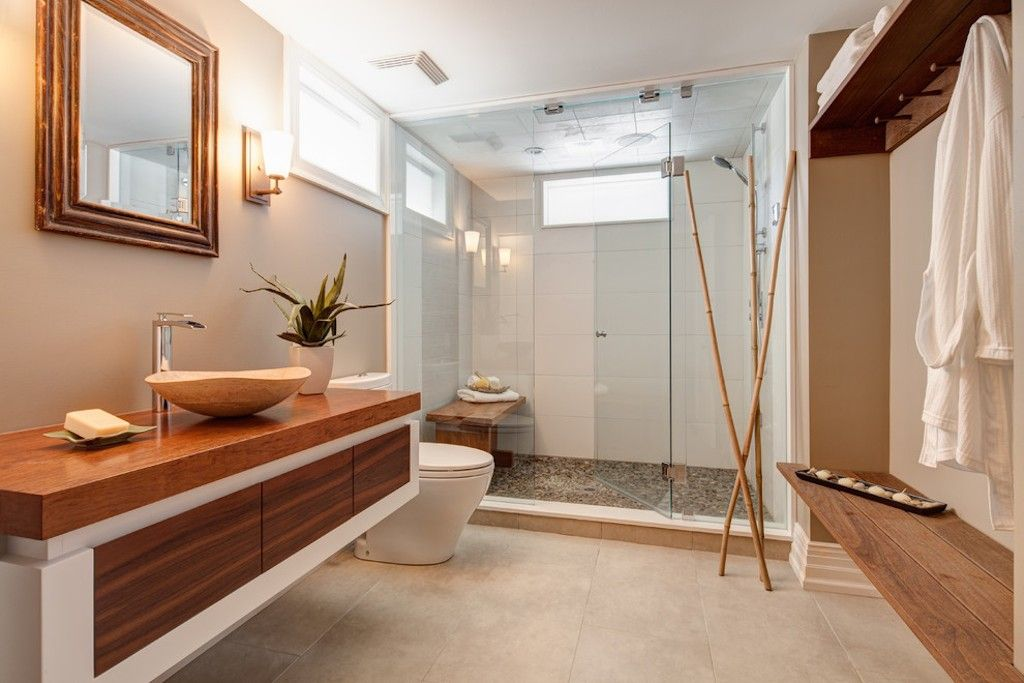 Chinese Oriental Style Bathroom Design Ideas