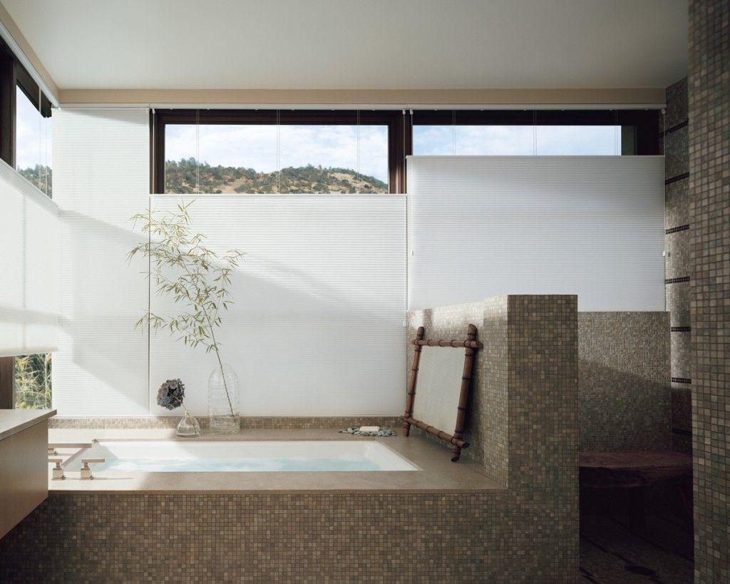 Oriental Style Bathroom Design Ideas with mosaic tiles