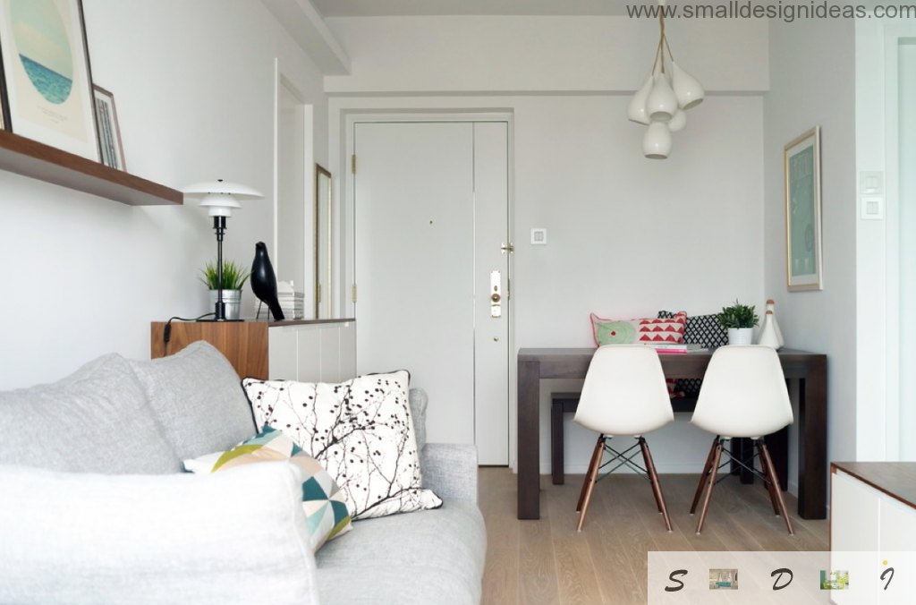 Small living is the main room in the condo. Small Living Room Decorating Ideas of white walls