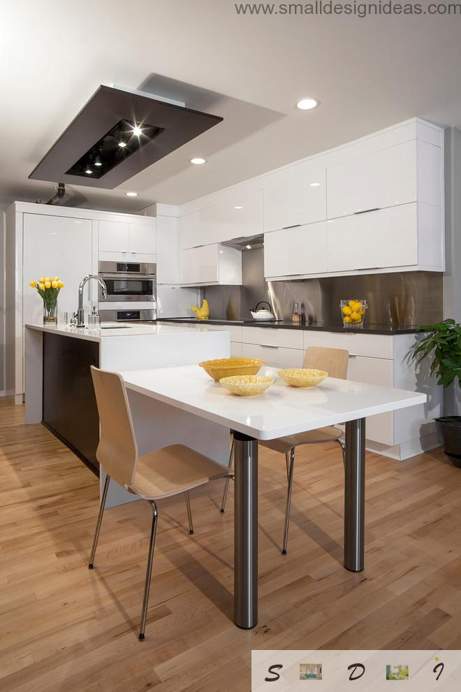 Kitchen Furniture Design Pictures in borders of minimalistic style
