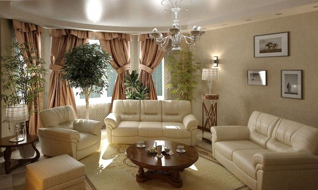 Modern Interior Pictures Placement Advice. chic room with leather upholstered furniture and modest lighted paintings