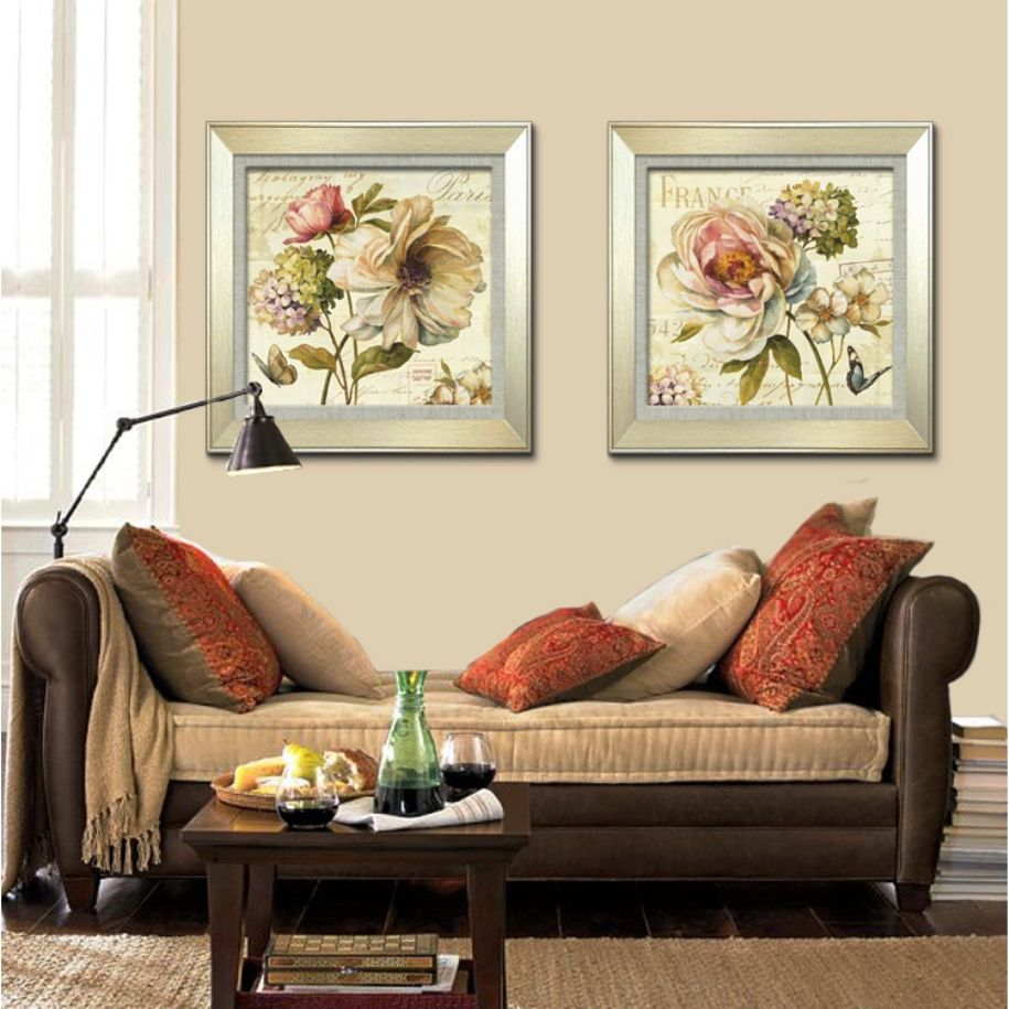 Modern Interior Pictures Placement Advice. Bed zone with the painting revives