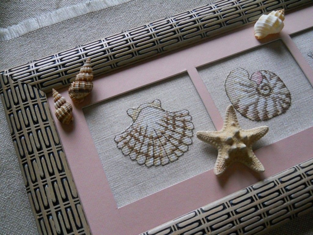 Embroidery and marine themed handicraft is very popular now