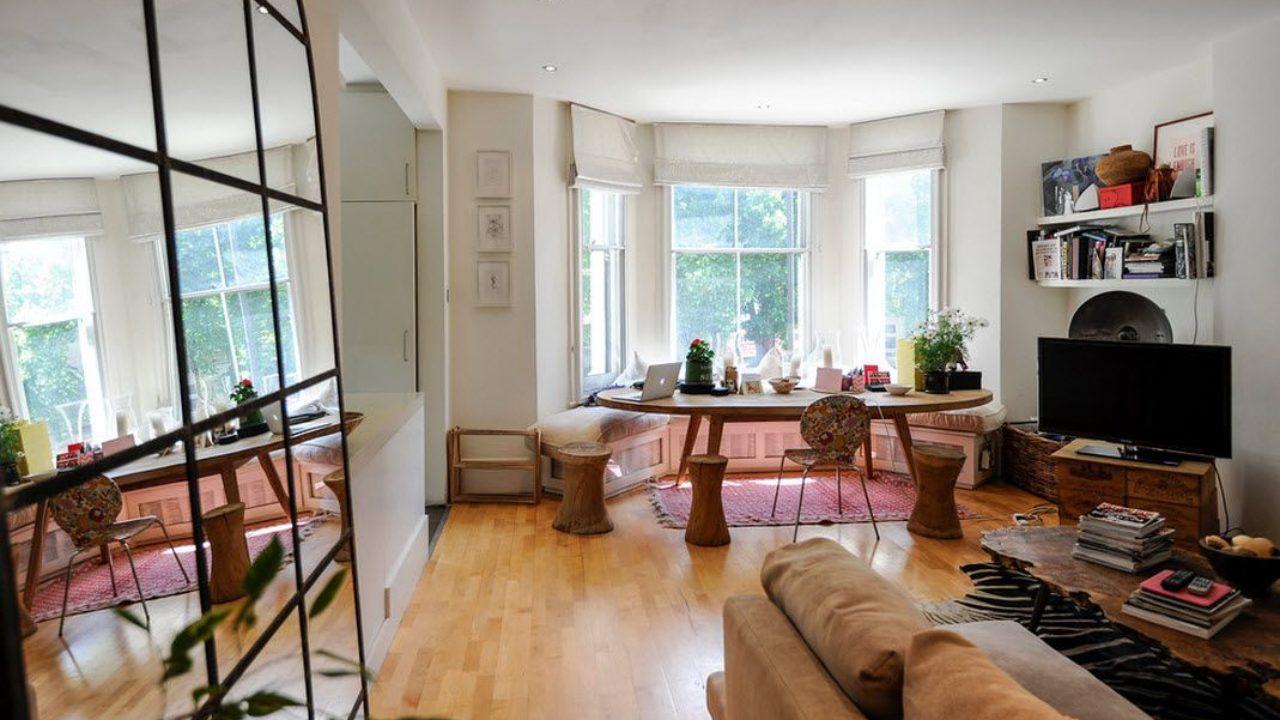 London Apartment Eclectic Interior Design Ideas