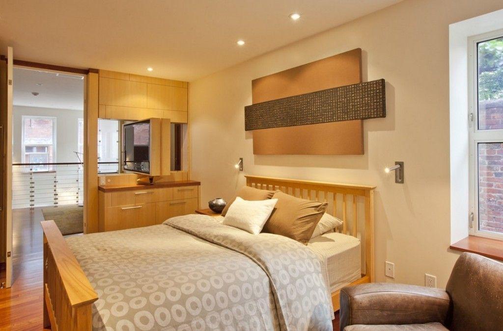 Proper Bedroom Interior Lighting Schemes Photos. spotlights sgheme all over the ceiling