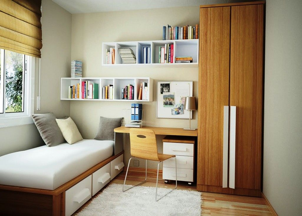 Modern Small Studio Apartment Space Increasing Methods. small children`s room with lot of functional elements
