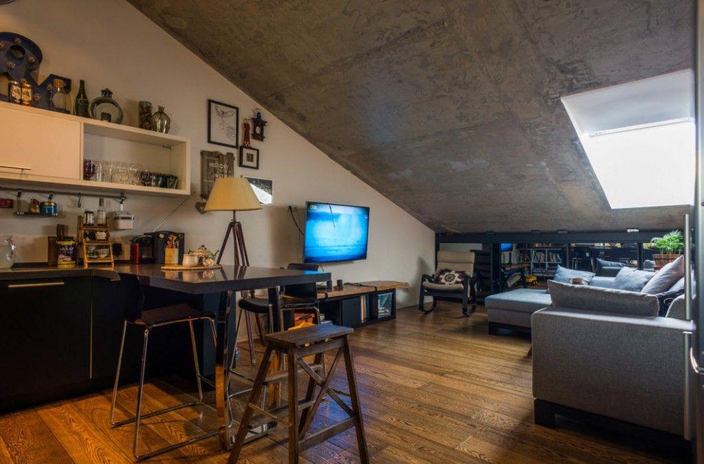 loft studio apartment interior design ideas