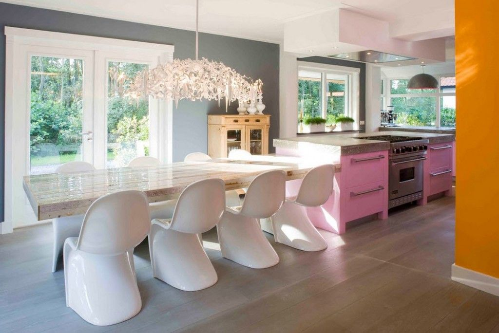 Stylish Kitchen Chandelier Types: Classic to Avant-Garde within one interior