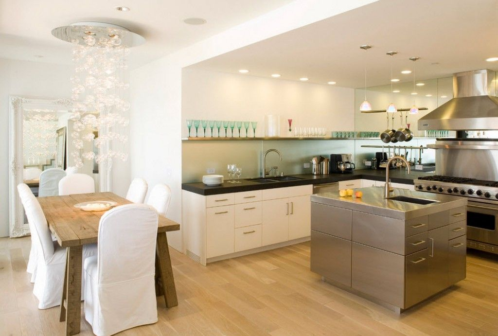 Stylish Kitchen Chandelier Types: Classic to Avant-Garde in the light designed modern kitchen