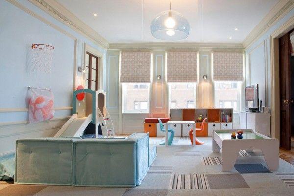 Working area in the children`s room lighting advice