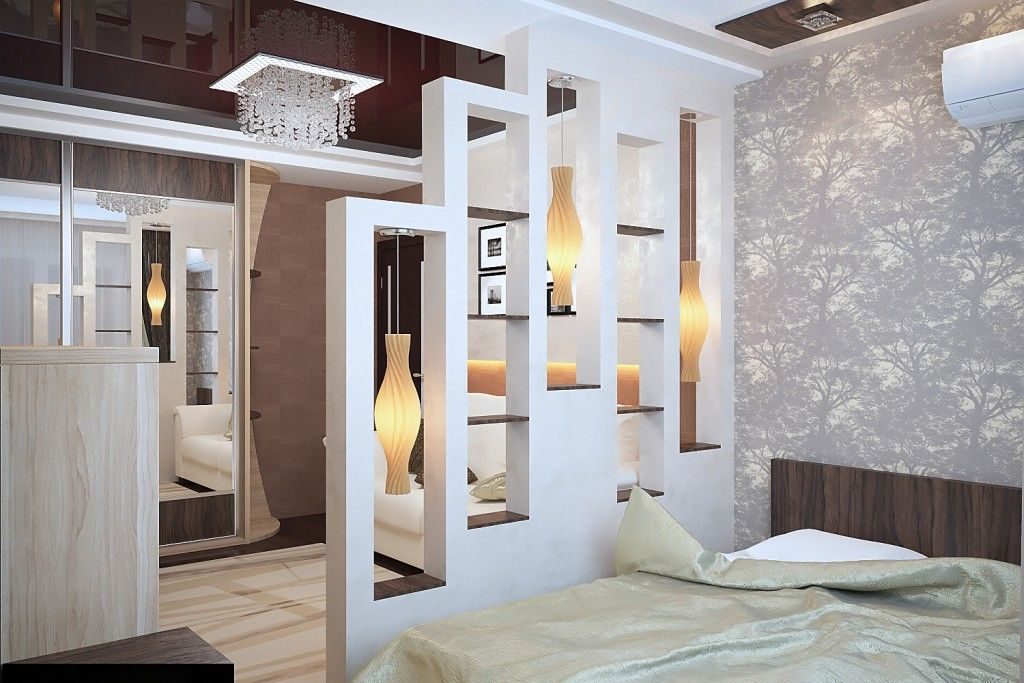 Living Room Lighting Placement Schemes. Partition lighting